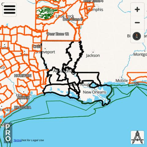 Louisiana Hunting App